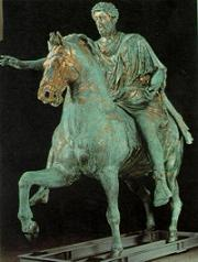 Marcus Aurelius on horse