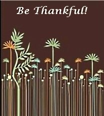 being thankful