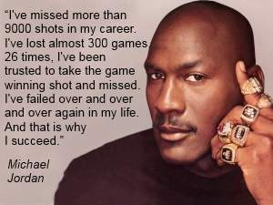 michael jordan failure quote