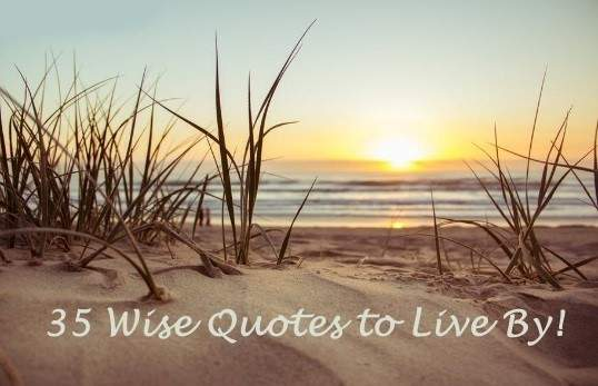 35 wise life quotes